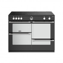 Stoves Sterling S1100EI Induction Black 110 Range Cooker 444444507