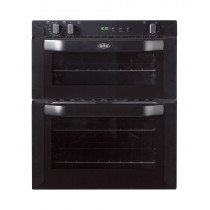 Belling BI70FP Built-Under 70 Black Double Oven