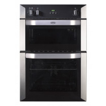 Belling BI90FP Built-In 90 Stainless Steel Double Oven