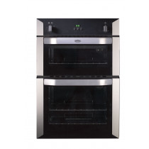 Belling BI90G Built-In 90 Stainless Steel Double Oven