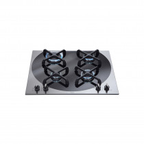 CDA 60 Four Burner Gas Hob Q Style Stainless Steel - 4Q4SS