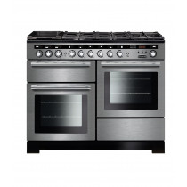 Rangemaster Encore Deluxe 110 Dual Fuel Stainless Steel Range Cooker EDL110DFFSS/C 117290