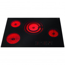 CDA 77 Four Zone Frameless Ceramic Hob HC7620