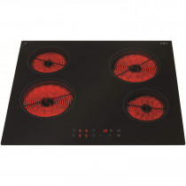 CDA Ceramic Hob 60 Four Zone Touch Control - HC6620
