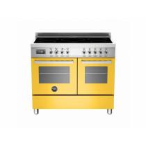 Bertazzoni Professional 100 Double Oven Induction Yellow Range Cooker PRO100-5I-MFE-D-GIT