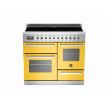 Bertazzoni Professional 100 Triple Cavity Induction Yellow Range Cooker PRO100-5I-MFE-T-GIT