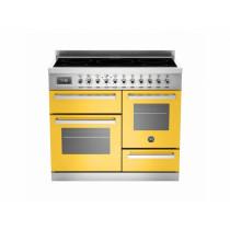 Bertazzoni Professional 100 Triple Cavity Induction Yellow Range Cooker PRO100-5I-MFE-T-GIT
