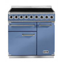 Falcon Deluxe 900 Induction China Blue/Nickel Range Cooker