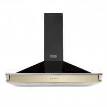 Stoves 90 Champagne Richmond Chimney Hood With Rail