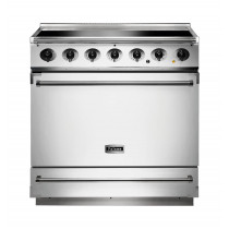 Falcon 900S Induction Ice White Range Cooker