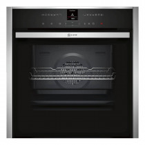 Neff B57VR22N0B Slide & Hide Pyrolytic Single Oven With VarioSteam