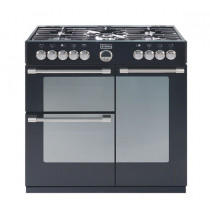 Stoves Sterling 900GT Black 90 Gas Range Cooker