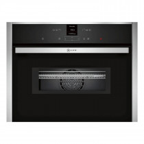 Neff N70 Compact 45cm Oven with Microwave C17MR02N0B