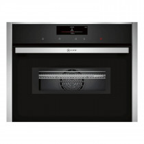 Neff N90 Pyrolytic Compact 45cm Oven with Microwave C28MT27H0B