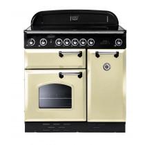 Rangemaster Classic 90 Induction Cream/Chrome Range Cooker 87650