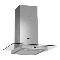 Neff 60 Stainless Steel Hood with Glass Canopy Sides