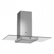 Neff 90 Stainless Steel Hood with Glass Canopy Sides