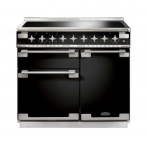 Rangemaster Elise 100 Induction Black Range Cooker 100160