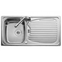 Leisure Euroline 1 Bowl Reversible Sink - Polished - EL9501/