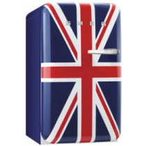 Smeg FAB10LUJ 50's Retro Style Union Jack Fridge with Ice Box