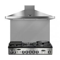 Rangemaster 110cm Glass Splashback Grey UNBSP1092GY/ 107600