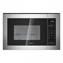 Neff 25 Litre 900W Microwave Oven and Grill Stainless Steel