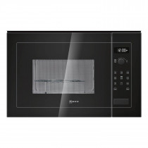 Neff 25 Litre 900W Microwave Oven and Grill Black