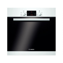 Bosch HBA13B120B Built-in White 3D Hot Air Single Oven