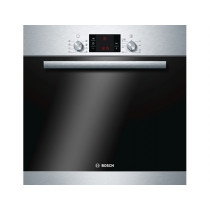 Bosch HBA63B150B Brushed Steel Pyrolytic Single Oven