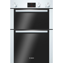 Bosch Serie 6 Built In 2 Function Double Oven White