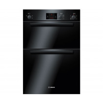 Bosch Serie 6 Built In 2 Function Double Oven Black