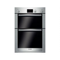 Bosch Serie 6 Built In 2 Function Double Oven Brushed Steel