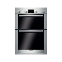 Bosch Serie 6 Built In 8 Function Double Oven Brushed Steel