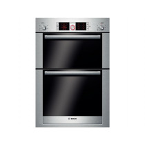 Bosch Serie 6 Built In 10 Function Double Oven Brushed Steel