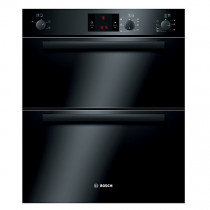 Bosch HBN13B261B Built Under Black 3D Hot Air Double Oven