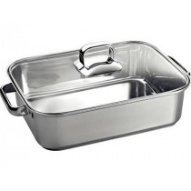 Bosch HEZ390011 Rectangular Roasting Pan with Lid