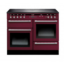 Rangemaster Hi-Lite Induction 110 Cranberry Range Cooker 10449