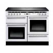 Rangemaster Hi-Lite Induction 110 White Range Cooker 10453