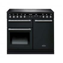 Rangemaster Hi-Lite Induction 100 Black Range Cooker 104700