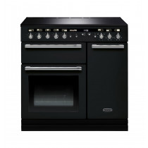 Rangemaster Hi-Lite Induction 90 Black Range Cooker 104410