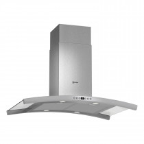 Neff 90 Stainless Steel Chimney with Glass Canopy