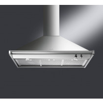Smeg Opera 100 Stainless Steel Chimney Hood