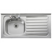 Leisure Contract 1 Bowl Square Front Sink - Right Handed