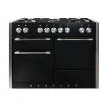 Mercury MCY1200DF Dual Fuel Ash Black Range Cooker