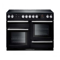 Rangemaster Nexus 110 Induction Black Range Cooker NEX110EIBL/C 104830