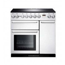 Rangemaster Nexus 90 Induction White Range Cooker NEX90EIWH/C 106200