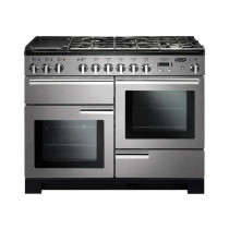 Rangemaster Professional Deluxe 110 Dual Fuel Stainless Steel Range Cooker PDL110DFFSS/C 97510