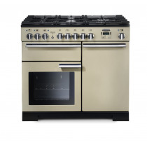 Rangemaster Professional Deluxe 100 Dual Fuel Cream Range Cooker PDL100DFFCR/C 97570