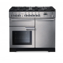 Rangemaster Professional Deluxe 100 Dual Fuel Stainless Steel Range Cooker PDL100DFFSS/C 97550
