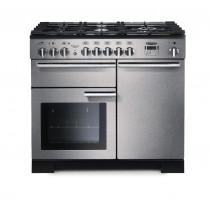Rangemaster Professional Deluxe 100 Dual Fuel Stainless Steel Range Cooker 97550